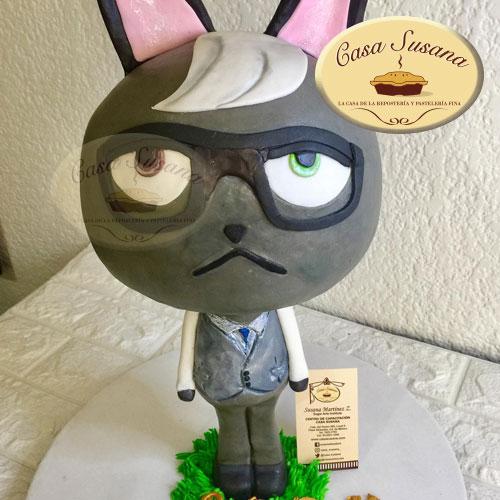 pastel conejo