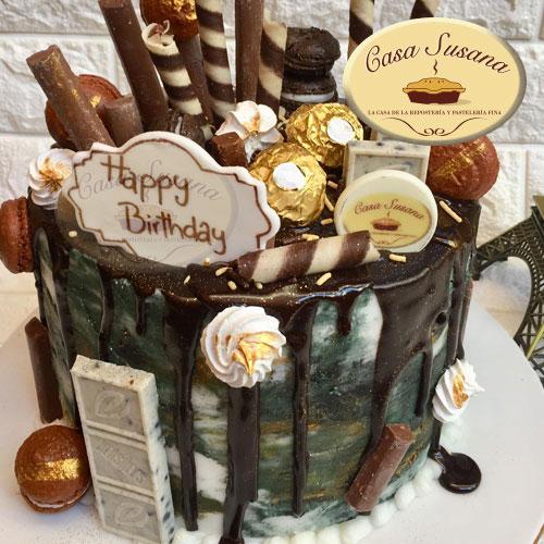 pastel cumpleaños