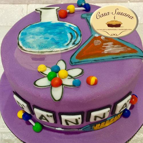 pastel quimica